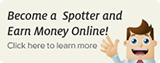 Become a Spotter and Earn Money Online
